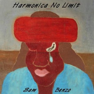 "El disco de SAM BENZO ""Harmonica No Limit""."