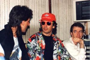 Grabando con los Amoco  Renegades y Denis Vanzetto en Trinidad