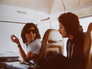 Bernard y Geiss en Shangai en 1981